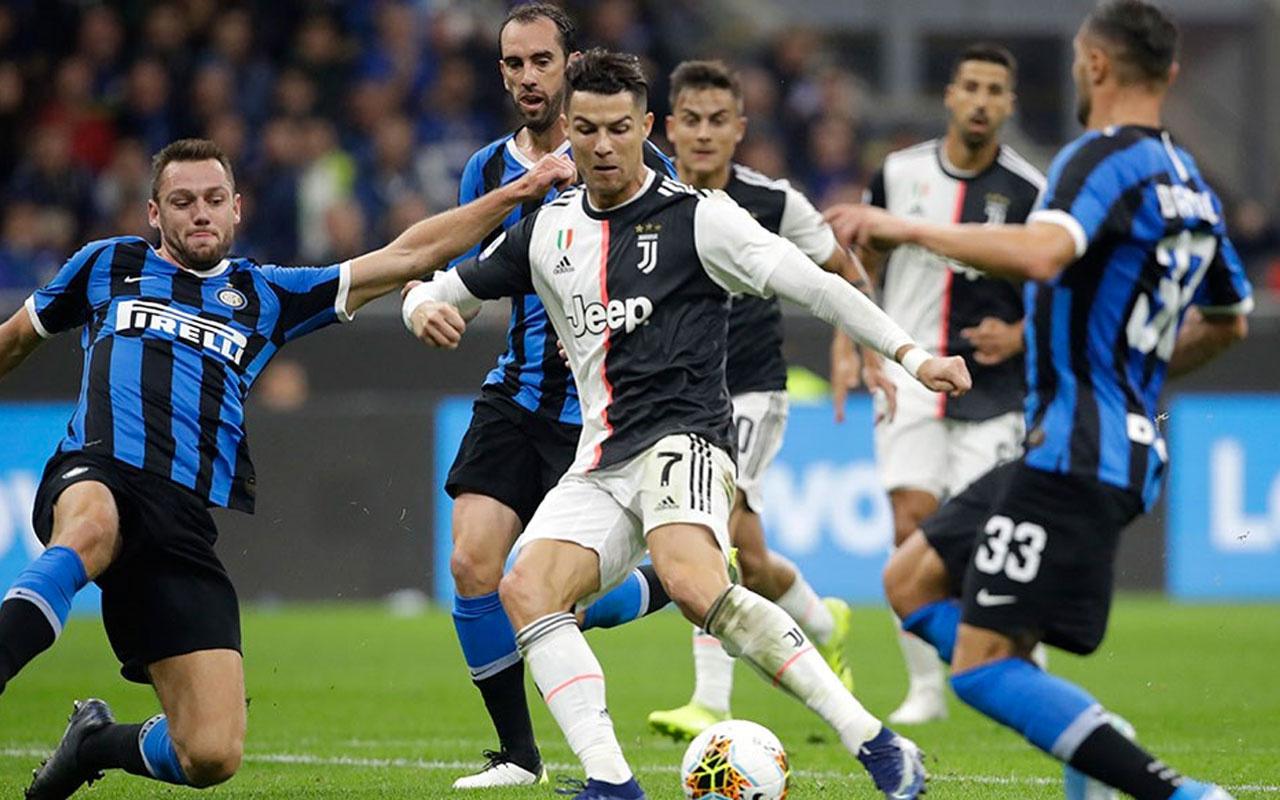 Juventus Inter'i deplasmanda devirdi