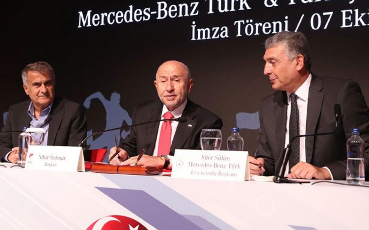 TFF Mercedes Benz ile sözleşmeyi 2023'e kadar uzattı