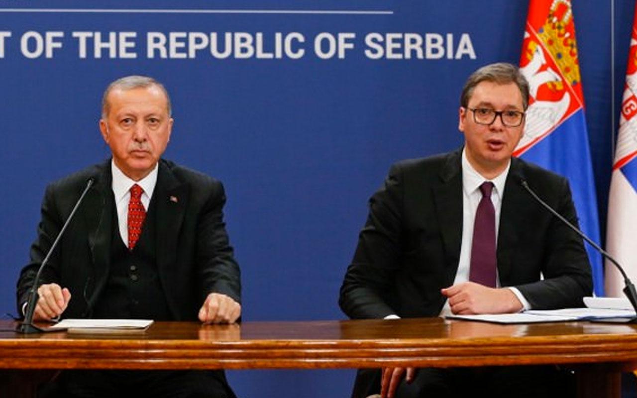 Erdoğan Sırbistan'da ortak basın toplantısında duyurdu: Türkiye talep etti açılıyor