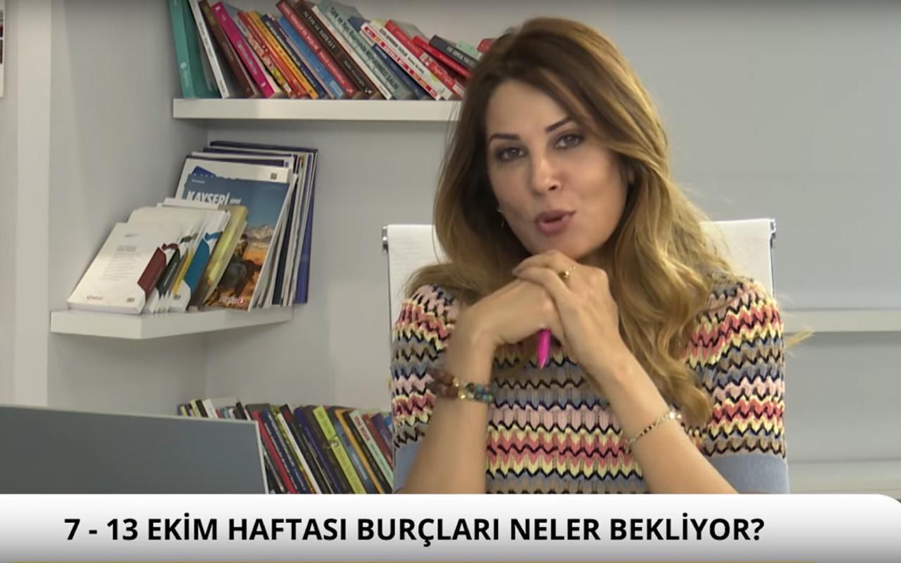 Hande Kazanova 7-13 Ekim haftası burç yorumları
