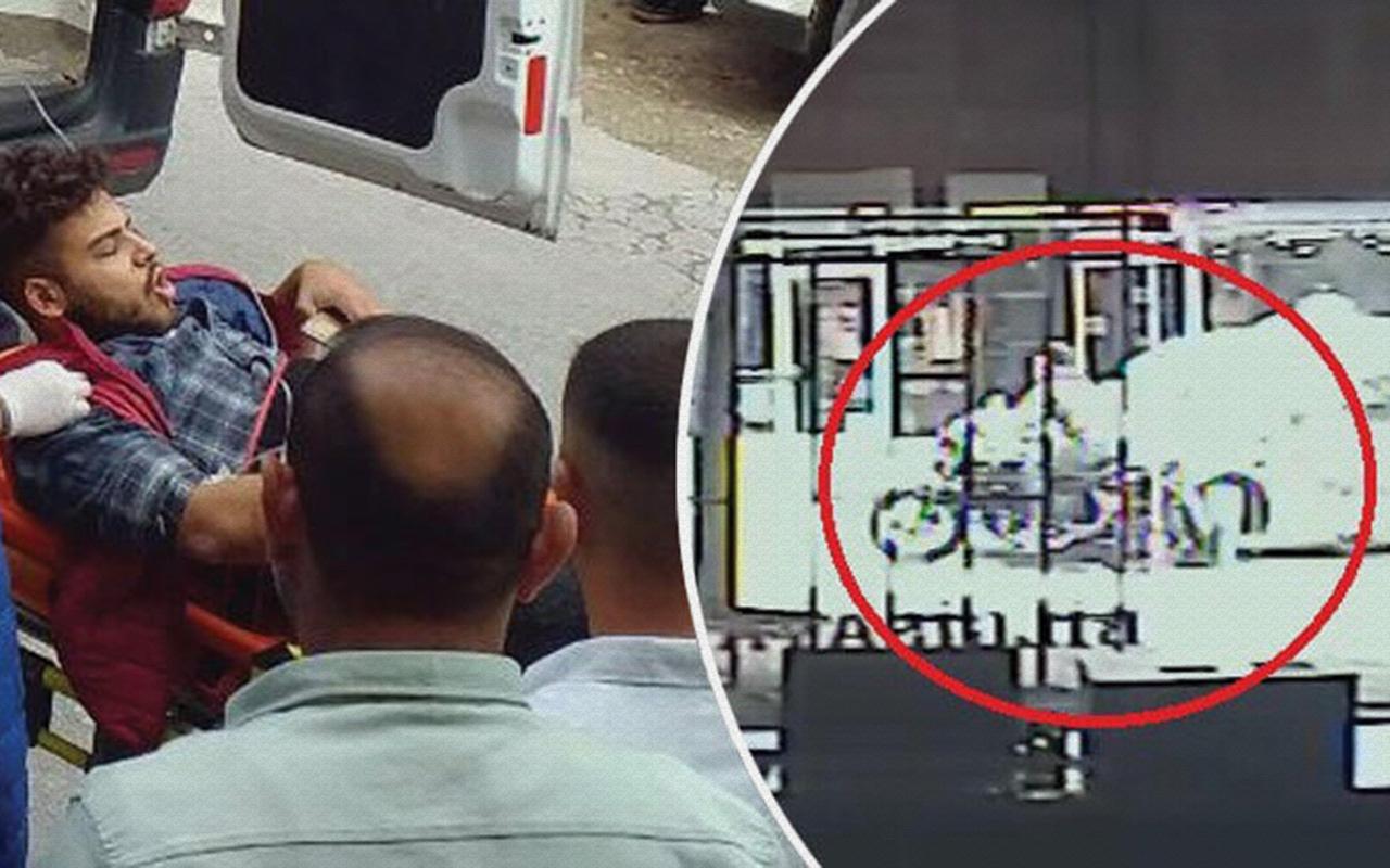 Kocaeli'de motosiklet sürücüsünün ayağının koptuğu kaza