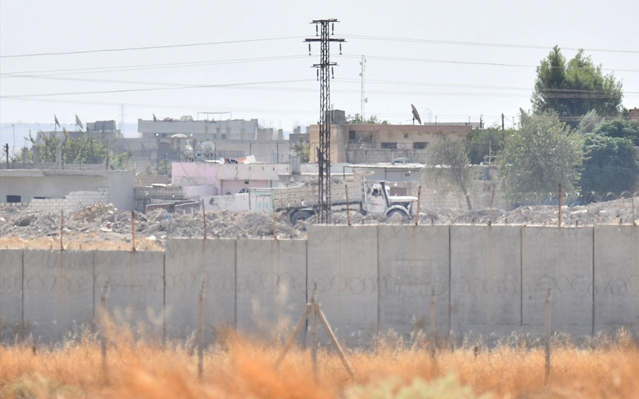 YPG'de panik! Ceylanpınar'ın karşısında böyle görüntülendiler