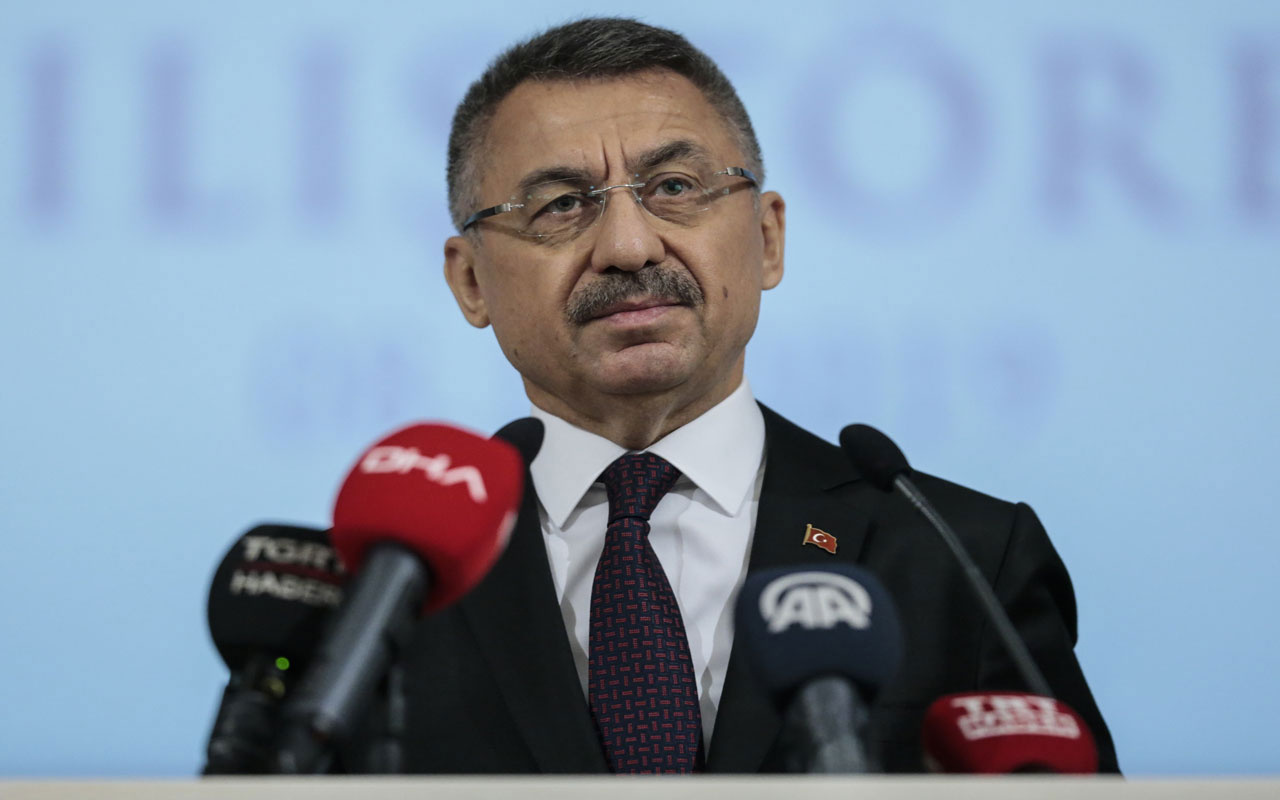 Fuat Oktay: Türkiye tehditlerle hareket edecek bir ülke değildir