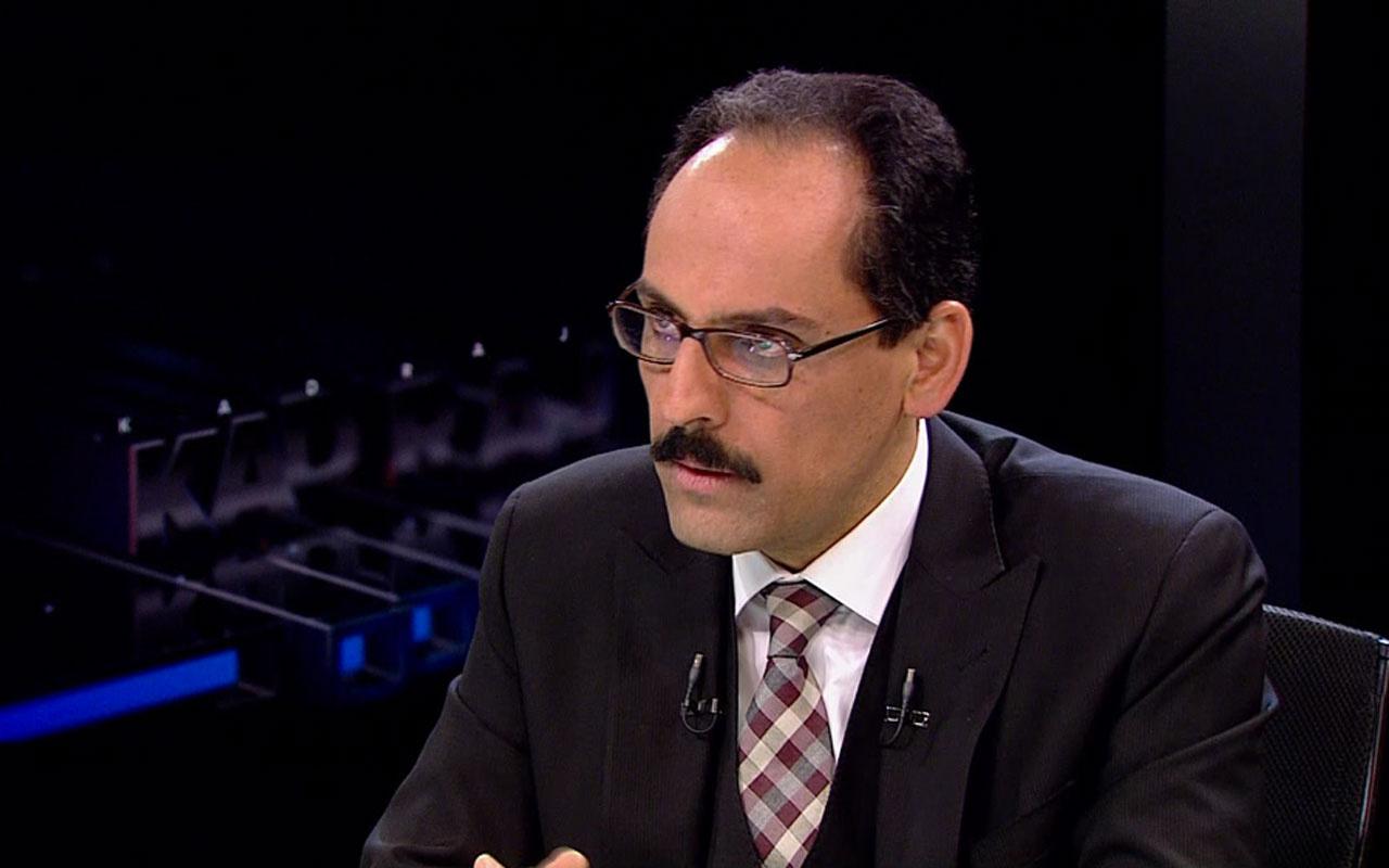 Cumhurbaşkanlığı Sözcüsü Kalın'dan Al Jazeera Televizyonu'na kritik açıklamalar