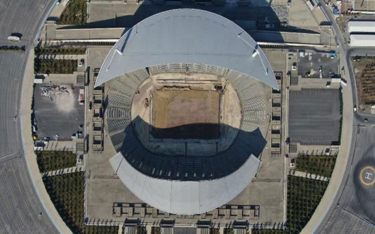 Olimpiyat Stadı Şampiyonlar Ligi finali için yenileniyor!
