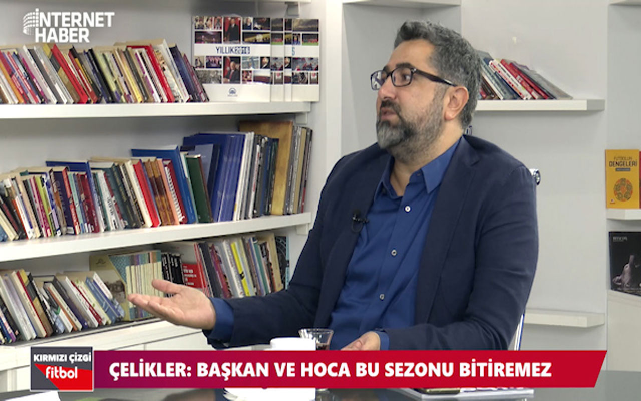 Serdar Ali Çelikler: Fatih Terim'le Mustafa Cengiz bu sezonu bitiremez