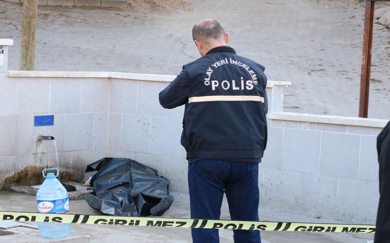 Yozgat'da SGK memuru çeşme başında ölü bulundu