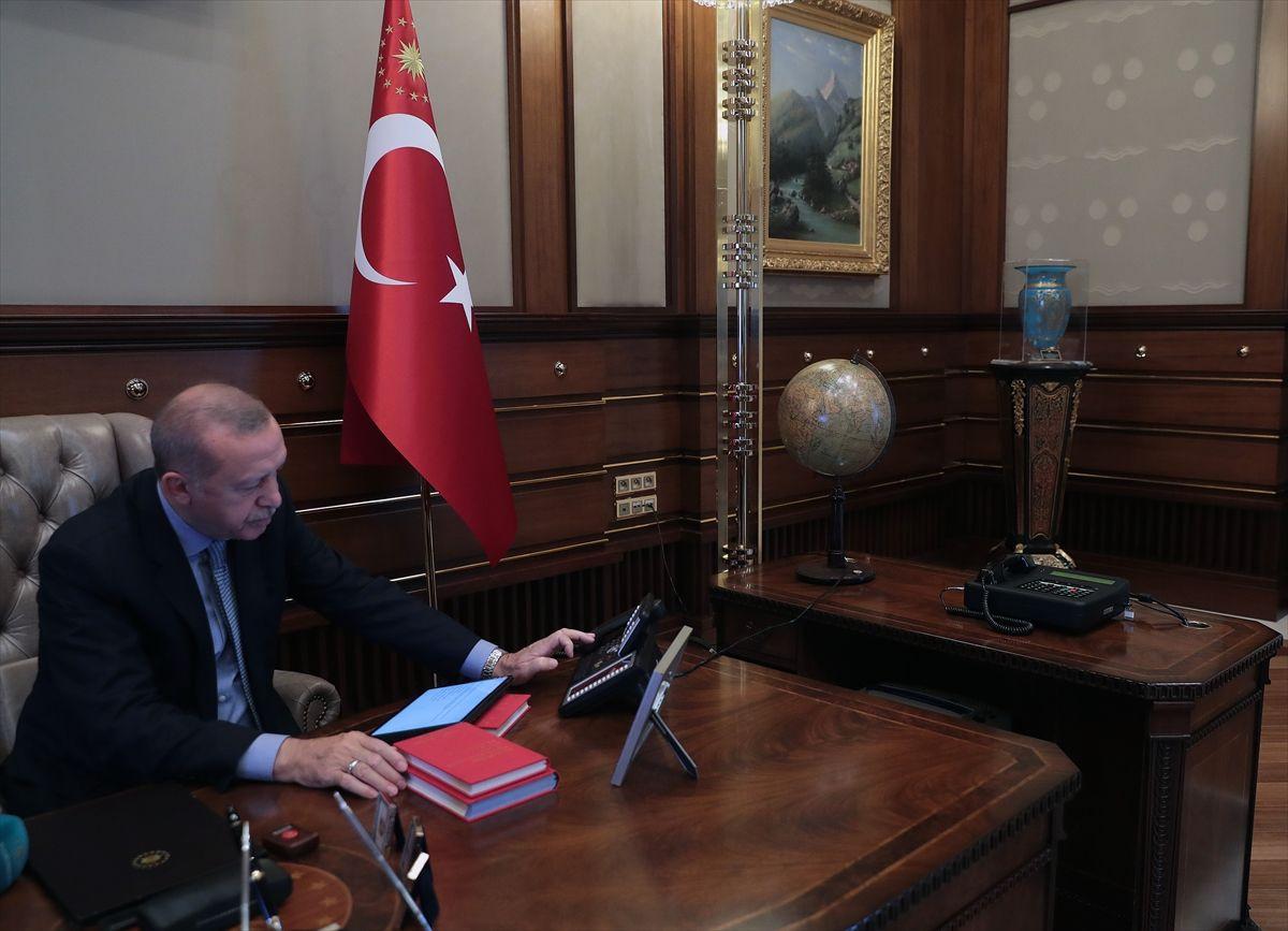 Cumhurbaşkanı Recep Tayyip Erdoğan'ın harekat emrini verdiği an