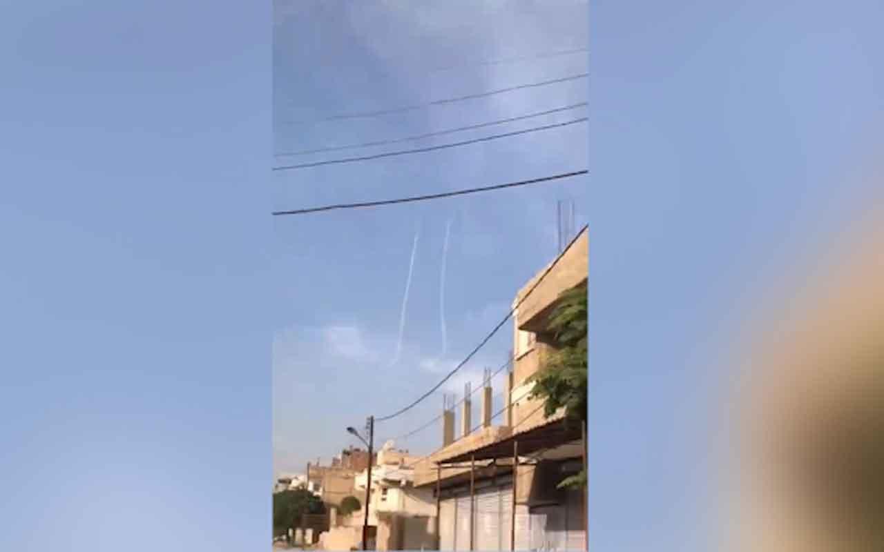 TSK savaş uçakları böyle vurdu! Harekattan sıcak görüntüler bunu da böyle ver