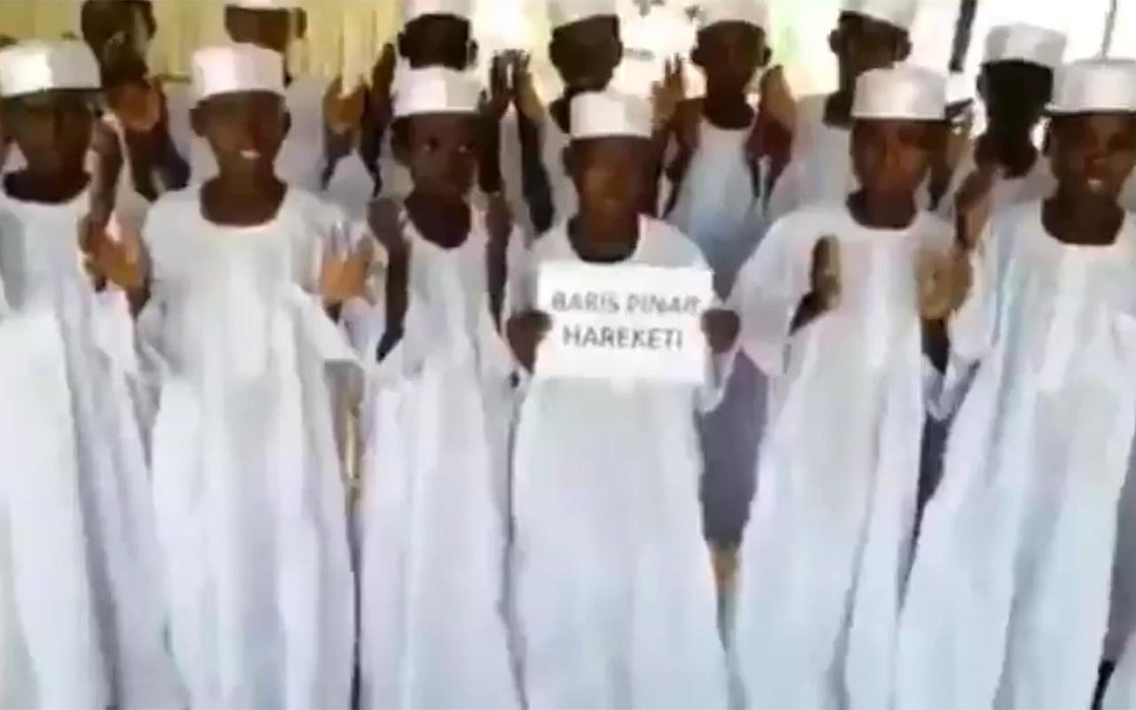Sudanlı yetimlerden Mehmetçik'e zafer duası