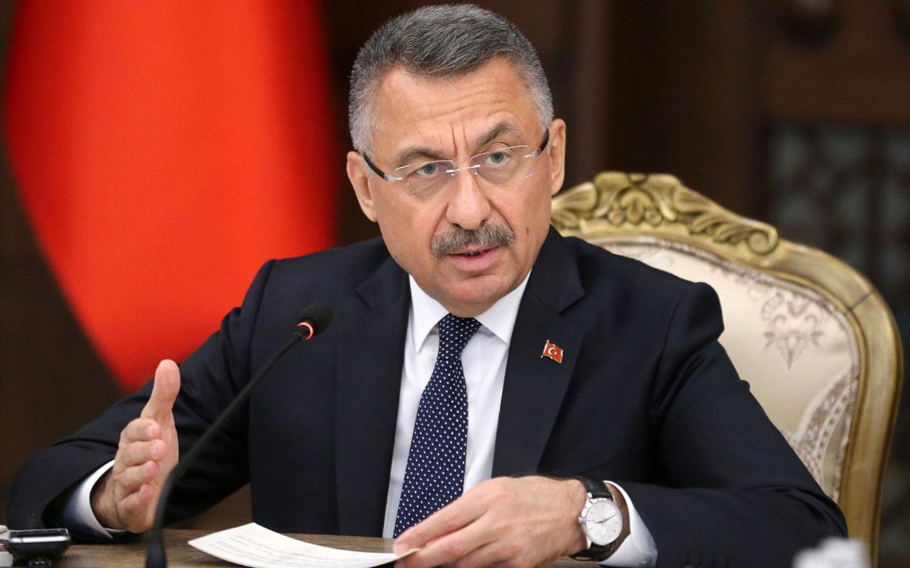 Cumhurbaşkanı Yardımcısı Fuat Oktay: Büyük çaplı bir operasyon başlattık