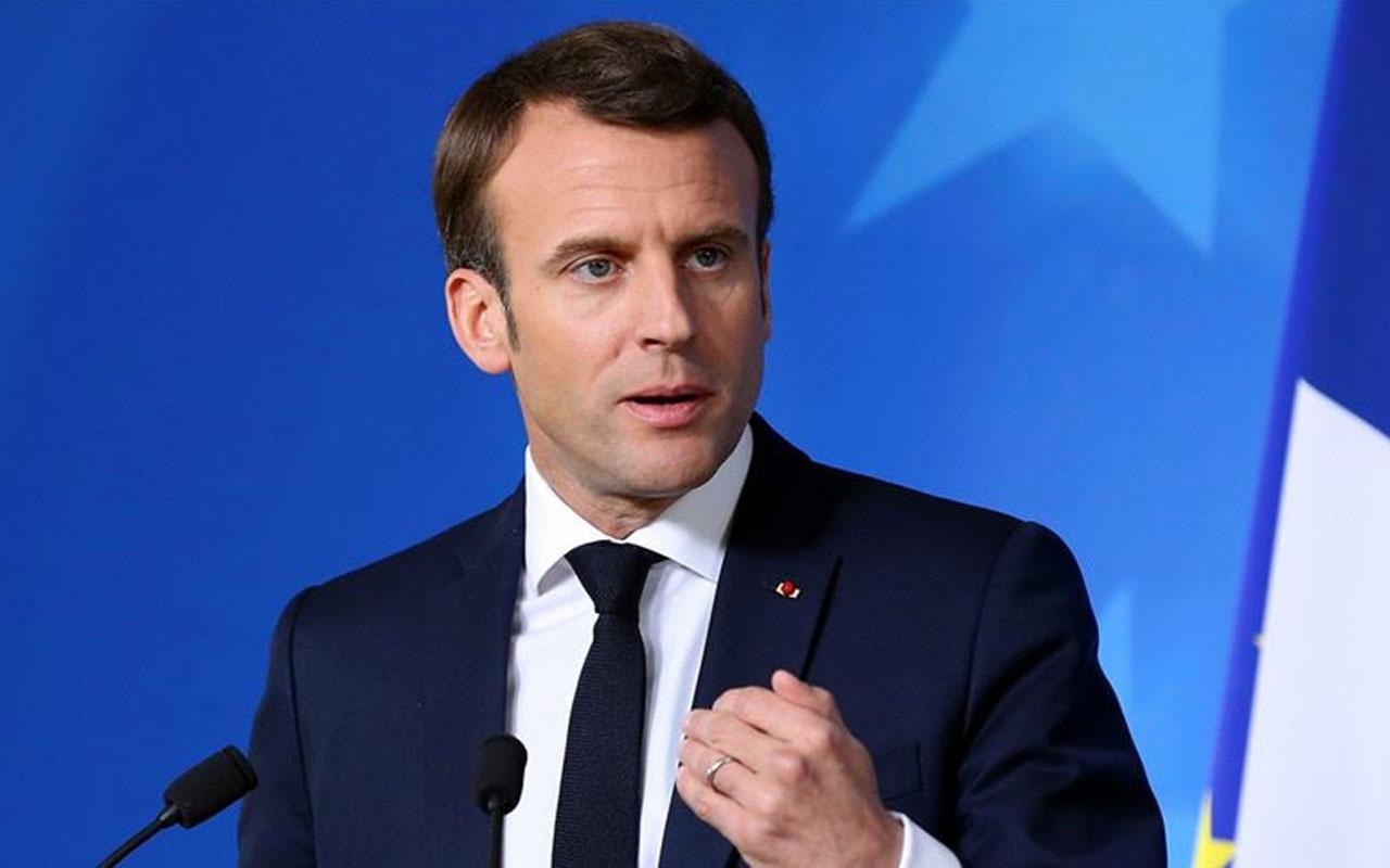 Macron'un görüntüsünü paylaşan gazeteci gözaltında