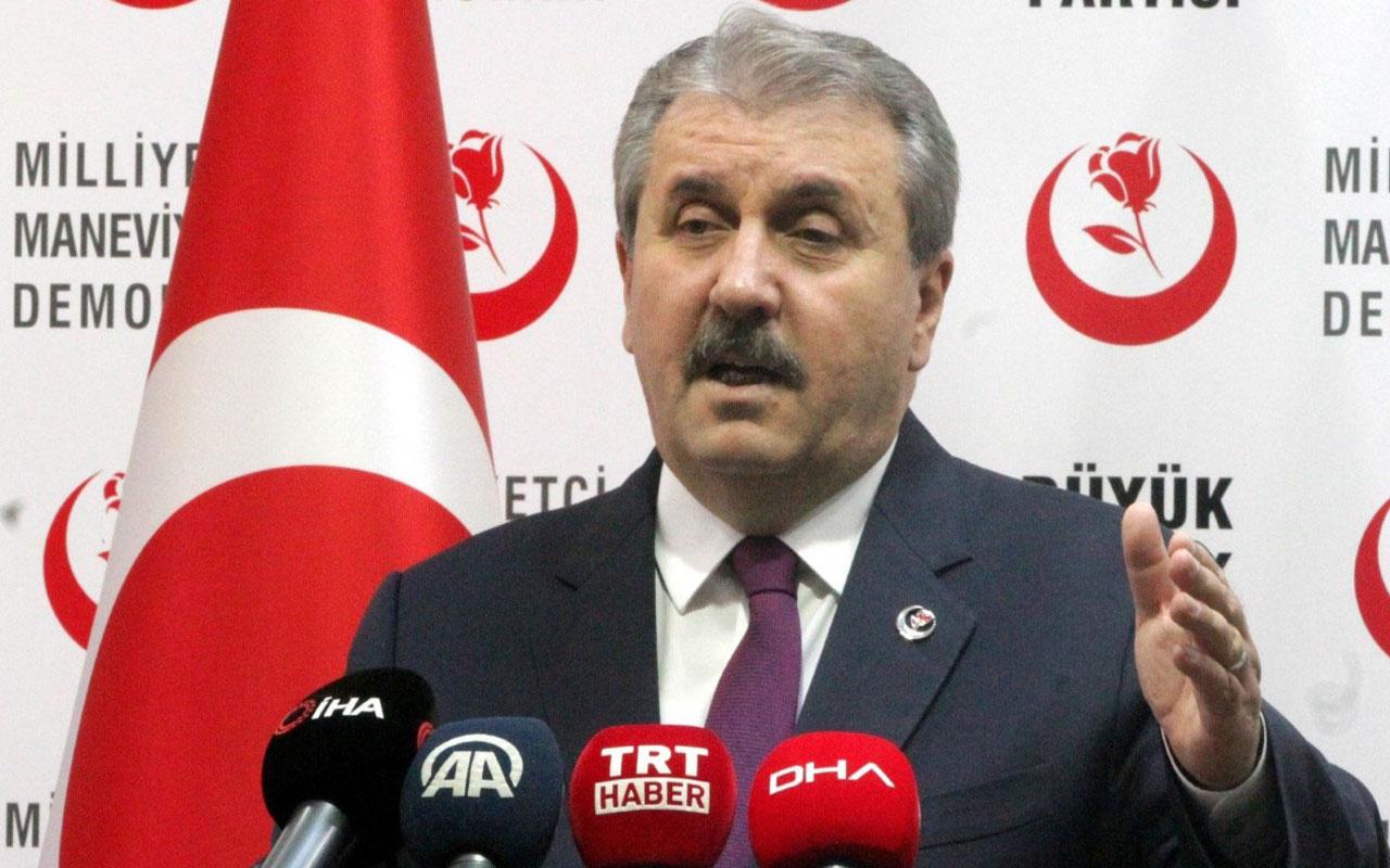 BBP lideri Mustafa Destici'den operasyon açıklaması