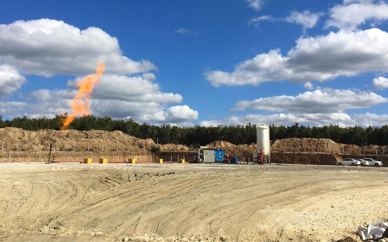 Tekirdağ'ın Kapaklı ilçesinde zengin doğal gaz yatağı bulundu