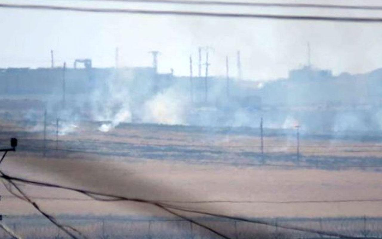 Fırat'ın doğusuna operasyon başladı! YPG'liler her yeri ateşe verdi