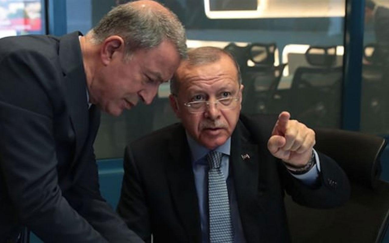 Başkan Erdoğan Barış Pınarı Harekatı'nı harekat merkezinde takip etti