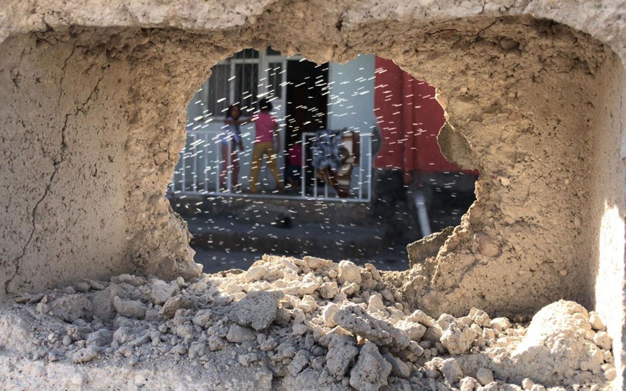 YPG/PKK'nın uçaksavar mermileri Ceylanpınar'a düştü! Yaralılar var