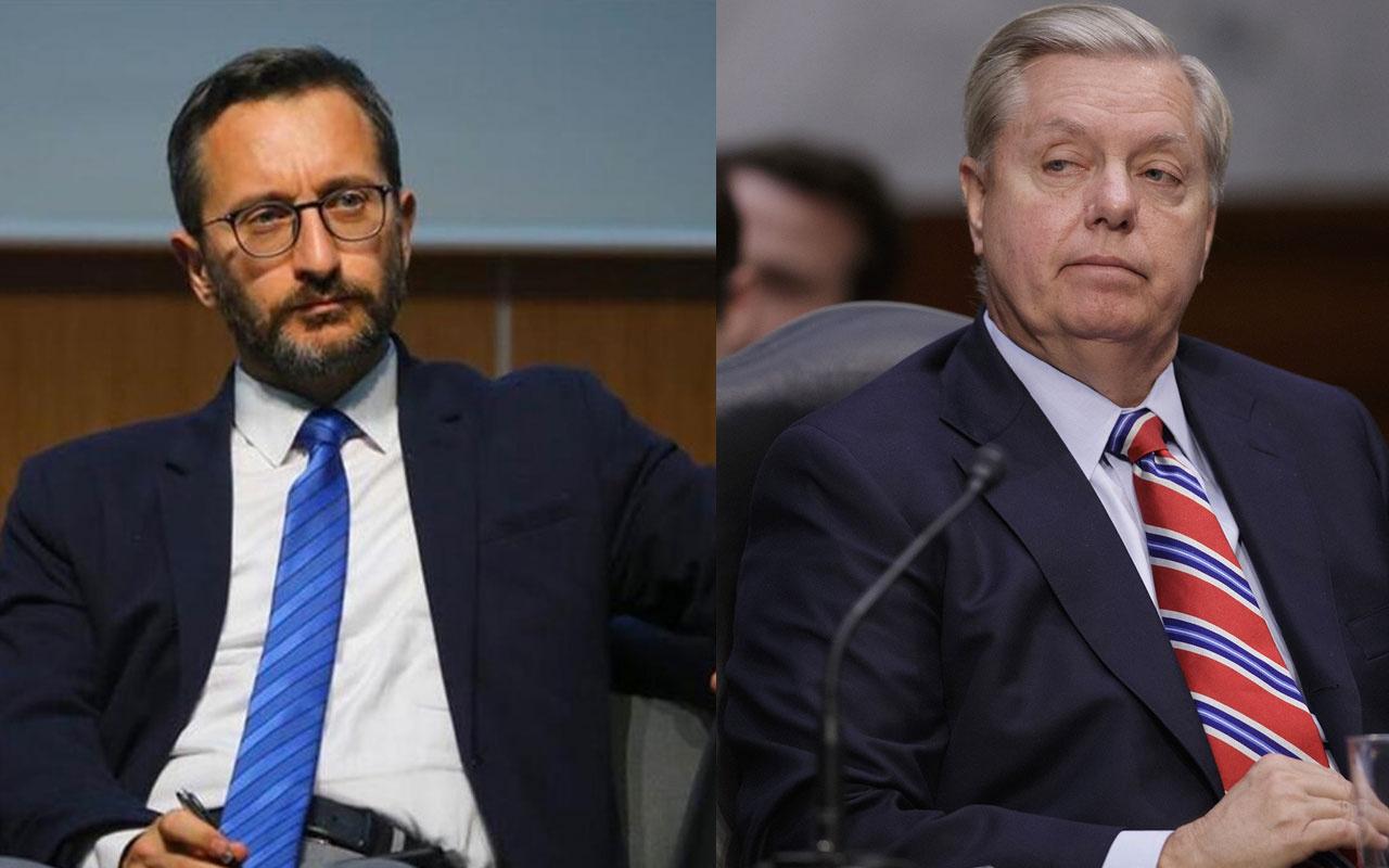 Fahrettin Altun'dan ABD'li küstah senatör Graham'a bomba kapak! Fena ti'ye aldı
