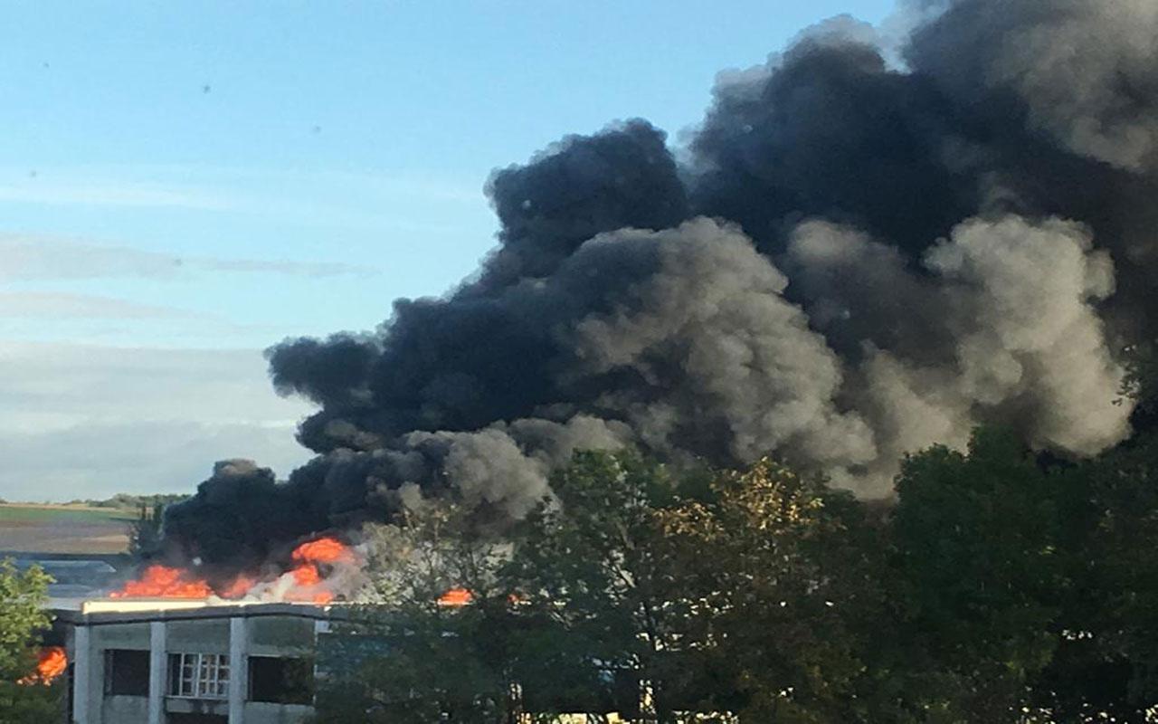 Avusturya Linz Havalimanı yakınında patlama oldu! Yaralılar var