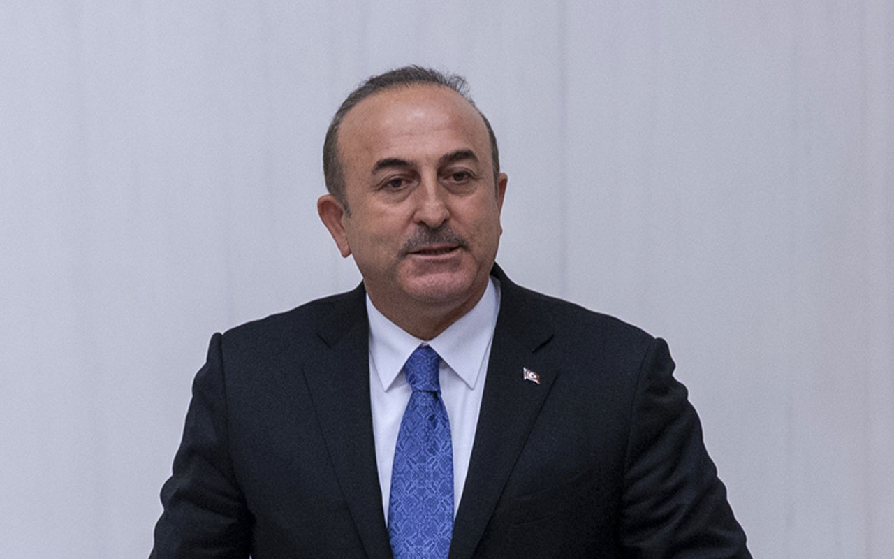 Dışişleri Bakanı Mevlüt Çavuşoğlu'ndan tokat gibi sözler