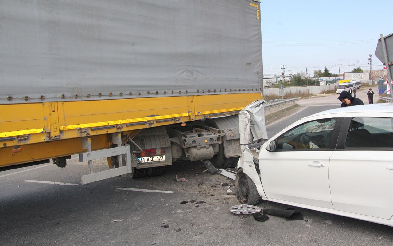 Tekirdağ'da feci kaza: 2'si çocuk 5 yaralı