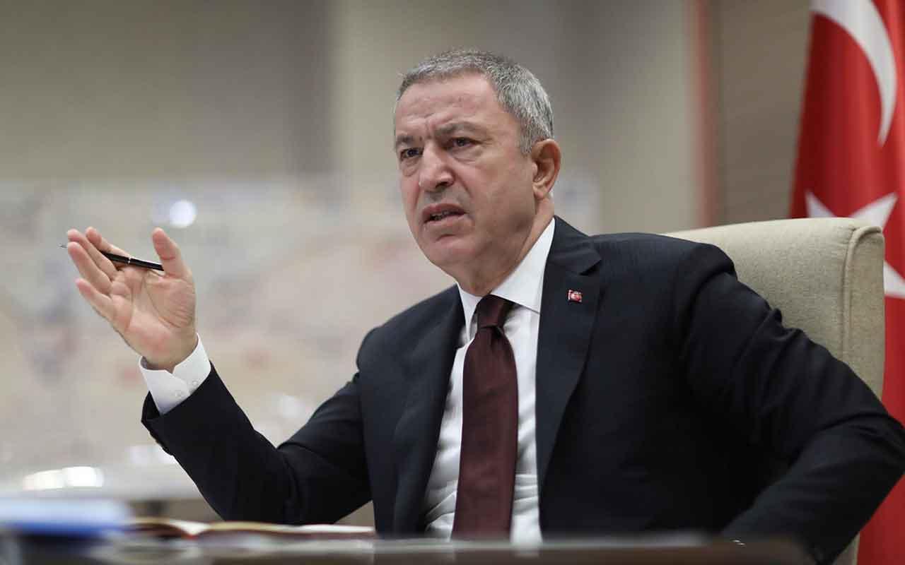 """Milli Savunma Bakanlığında """"Barış Pınarı"""" toplantısı"""