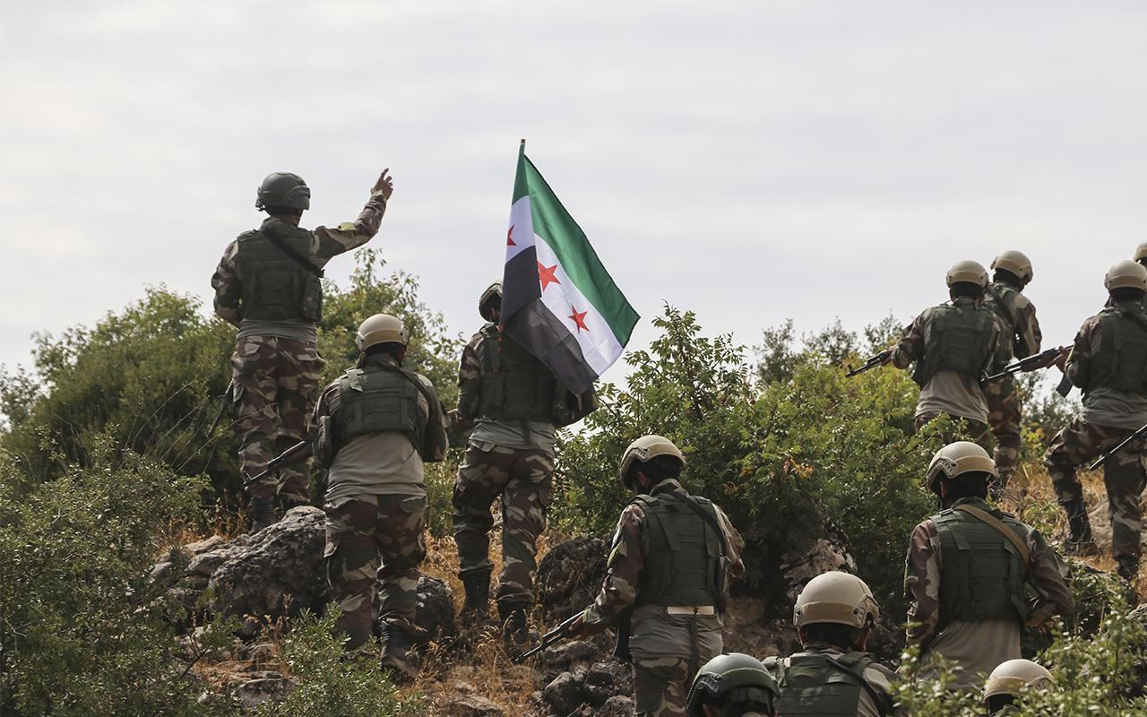 Barış Pınarı Harekatı'nda Suriye Milli Ordusu pusuya düşürüldü! 4 kişi öldü