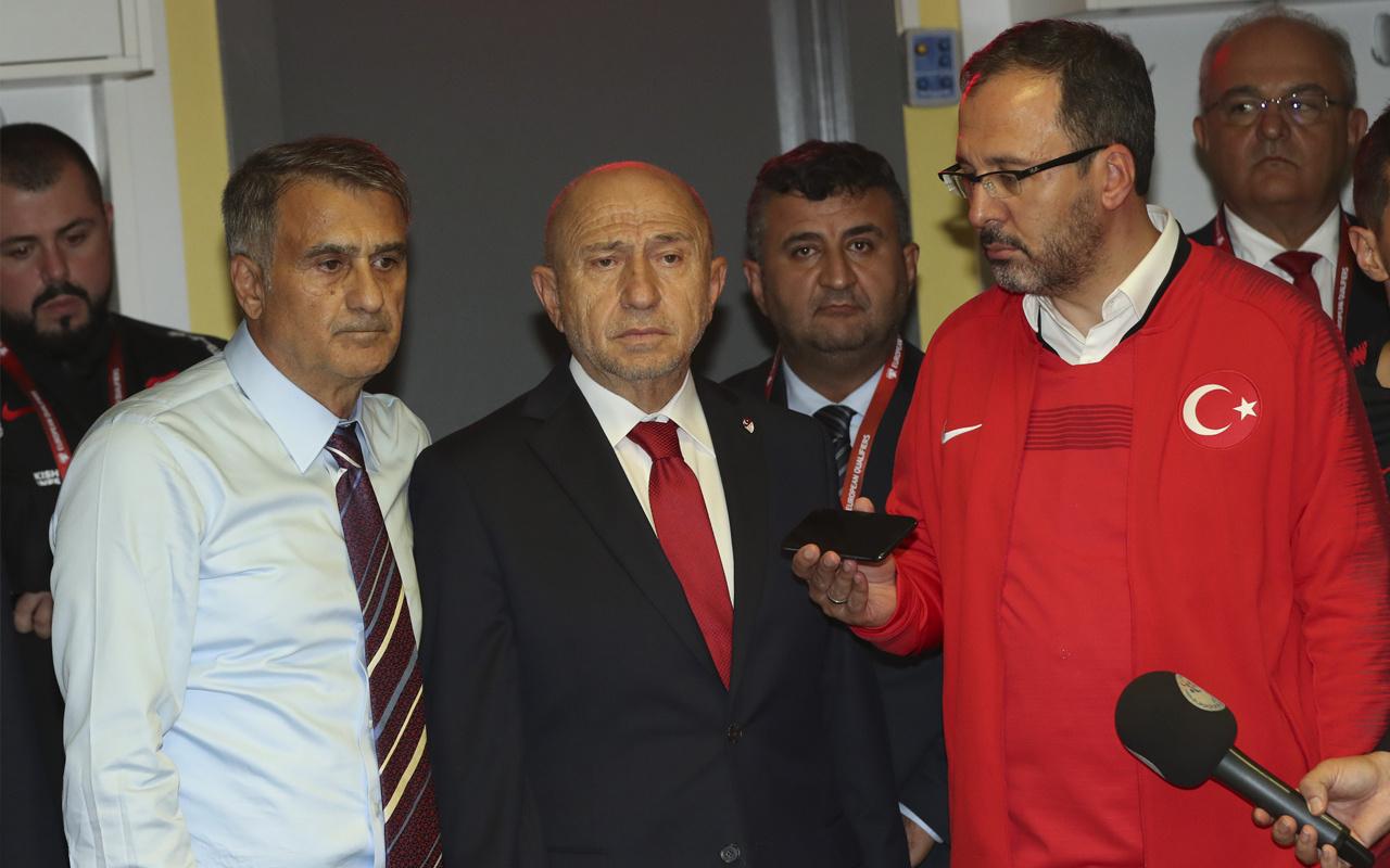 Cumhurbaşkanı Erdoğan tebrik etti! Şenol Güneş: Asker olmaya hazırız