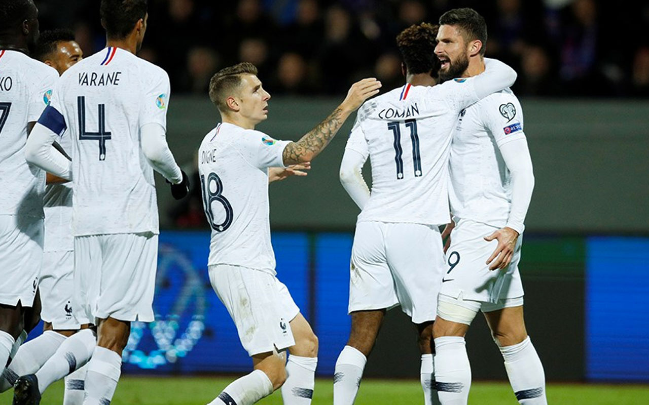 Fransa İzlanda'yı tek golle geçti Türkiye'den intikam almak istiyor