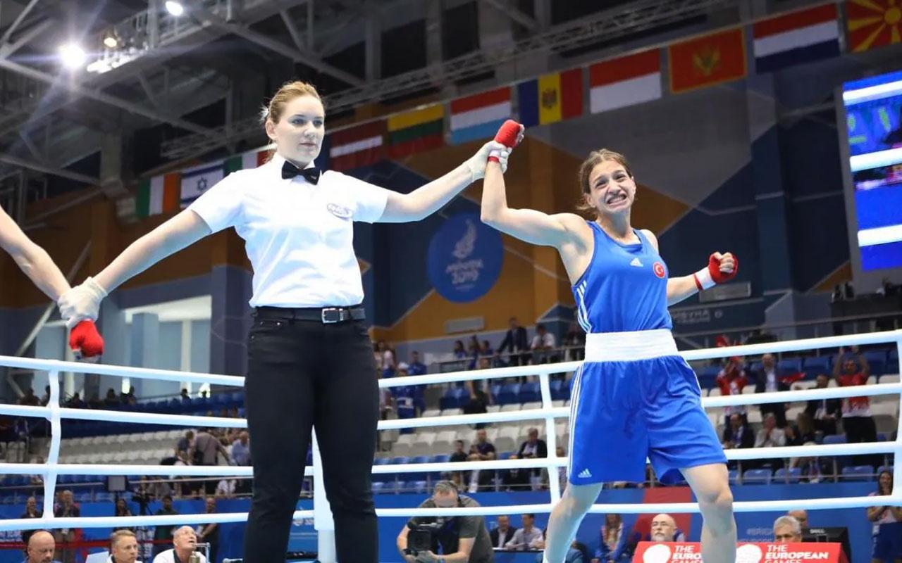 Boksta Buse Naz Çakıroğlu finale yükseldi