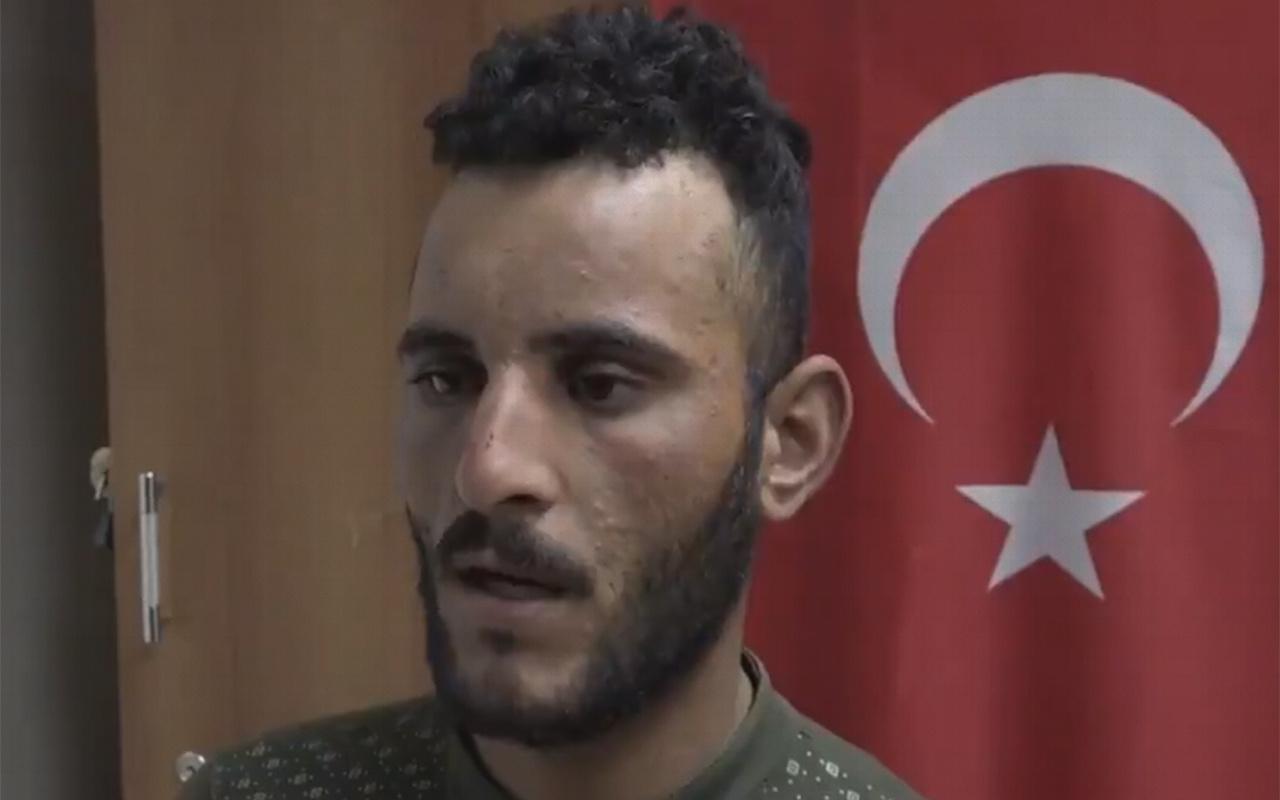 Barış Pınarı Harekatı'nda teslim olan terörist örgütün gerçek yüzünü anlattı