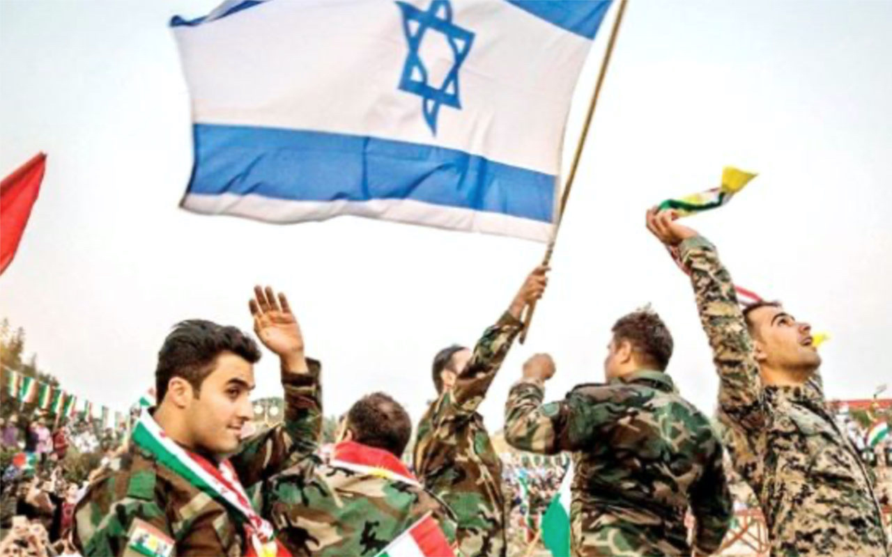 Harekattan rahatsız olan İsrail Kürtleri korumak için YPG'ye silah verecek