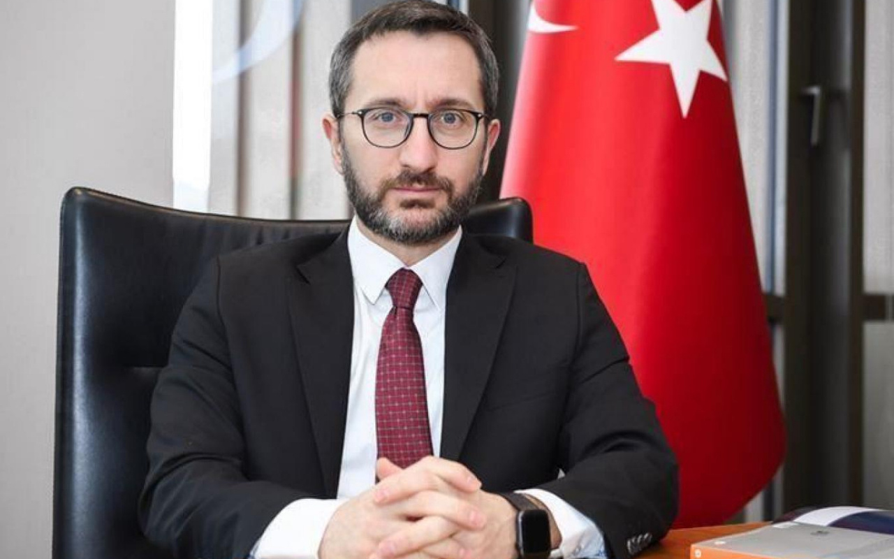 İletişim Başkanı Fahrettin Altun'dan CHP'ye tepki: Kimden yanasınız?
