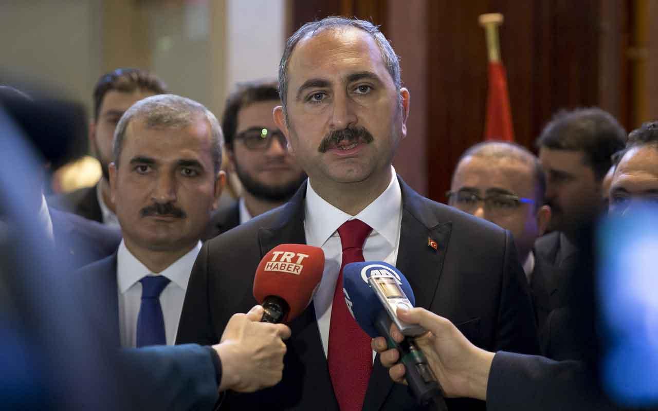 """Adalet Bakanı Gül: """"Bu mücadele meşru bir müdafadır, doğal bir haktır"""""""
