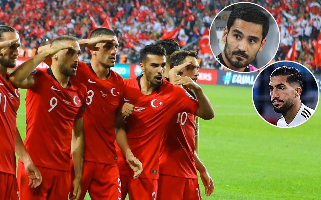Emre Can ve İlkay Gündoğan'dan asker selamı açıklaması!