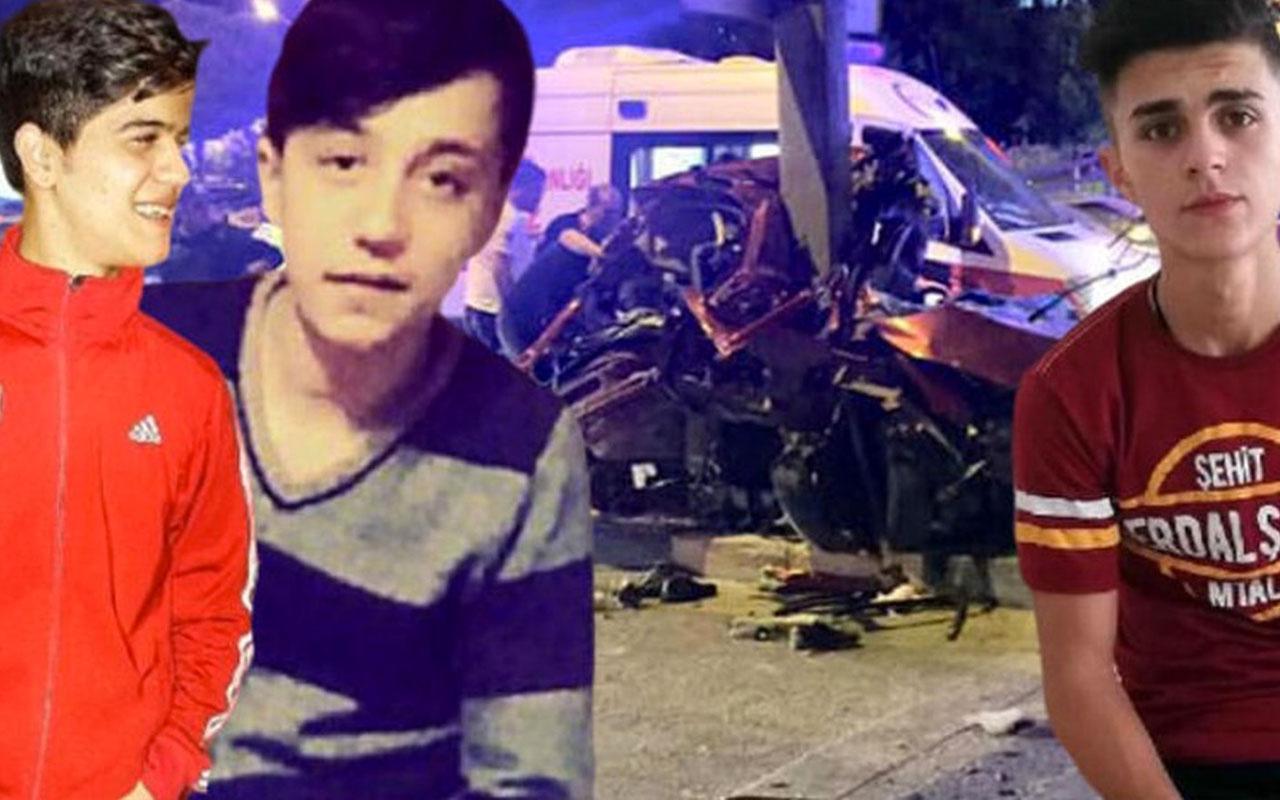 Gaziantep'te 3 arkadaşın feci ölümüyle sonuçlanan kaza