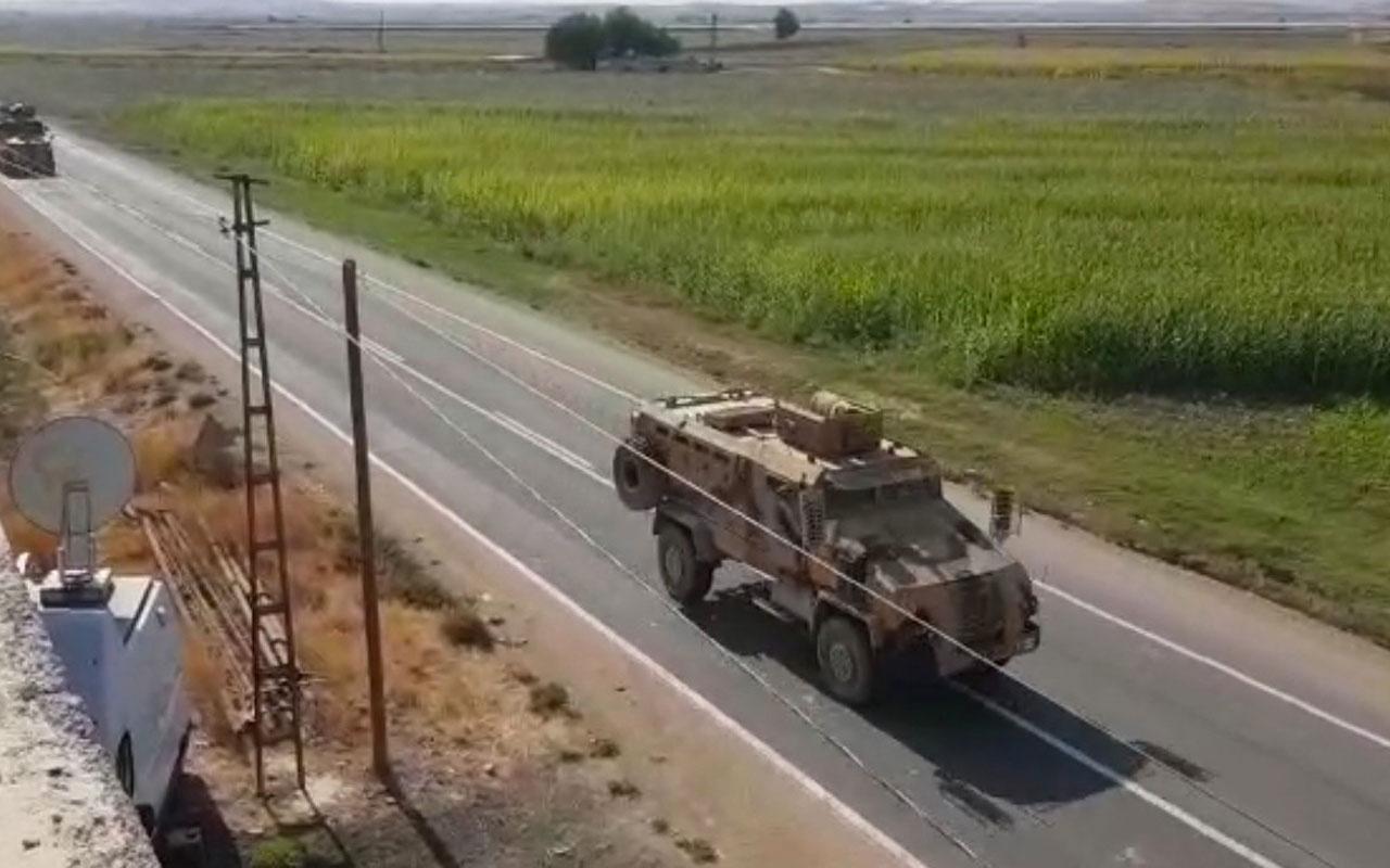 Kobani sınırında askeri hareketlilik dikkat çekti