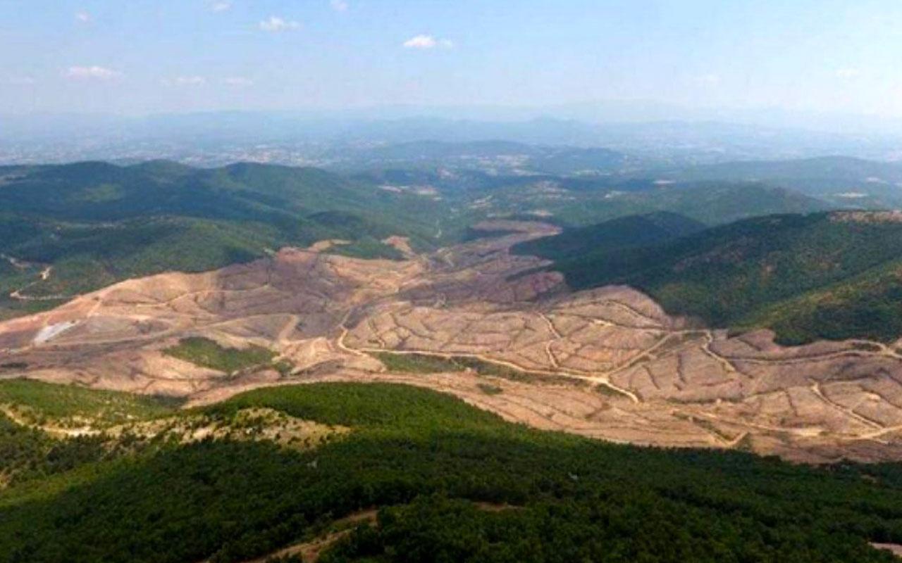 Kazdağları yakınındaki Kirazlı altın arama projesi durduruldu! Kararı şirket açıkladı