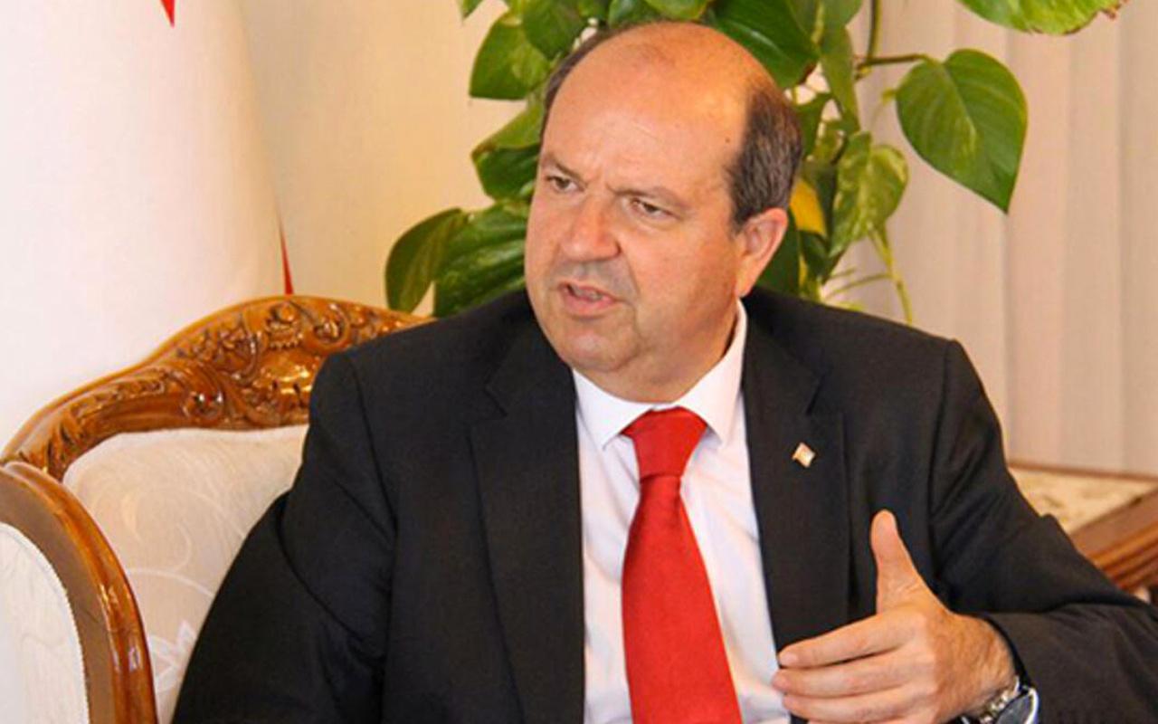 KKTC Başbakanı Ersin Tatar'dan Barış Pınarı Harekatı açıklaması