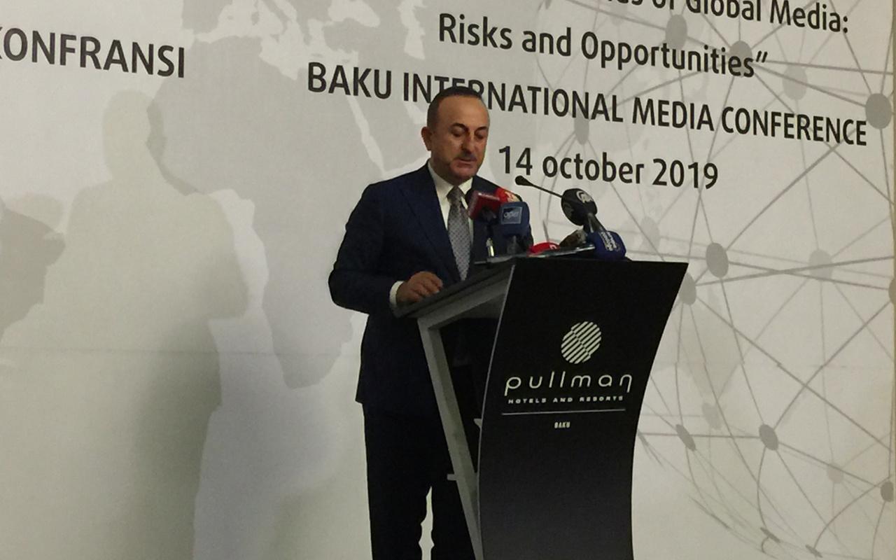 Dışişleri Bakanı Mevlüt Çavuşoğlu'ndan yaptırımlar ve harekat için son dakika açıklama