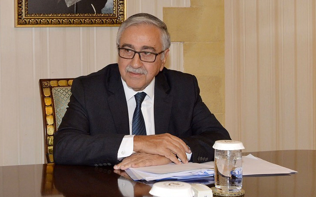 Barış Pınarı açıklaması olay olmuştu Mustafa Akıncı'dan yeni açıklama