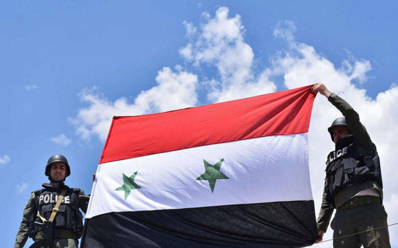 Suriye ordusu yerleşti! Haseke ve Kamışlı'daki devlet kurumlarında Suriye bayrağı çekildi
