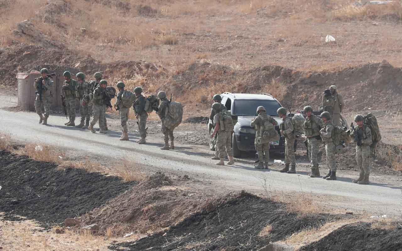 Erdoğan'ın Münbiç'e gireceğiz açıklamasından sonra TSK'dan takviye komando