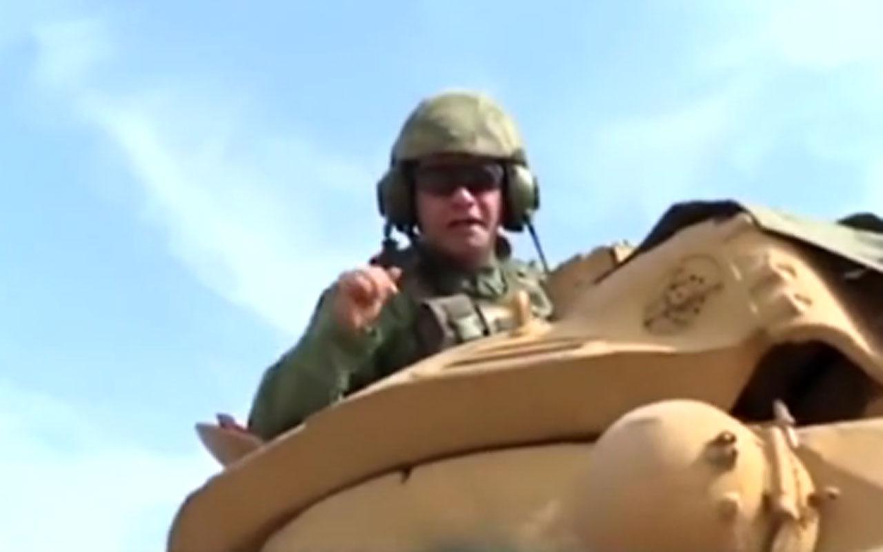 Suriyedeki Barış Pınarı Harekatı'na katılan asker mesajıyla duygulandırdı