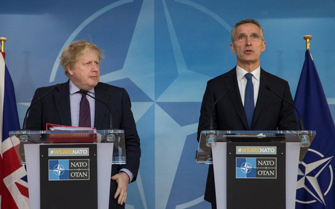Johnson ve NATO Genel Sekreteri Stoltenberg'ten Türkiye açıklaması