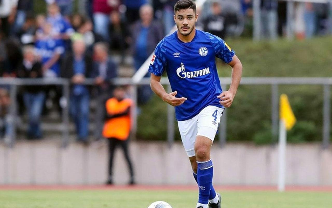 Schalke 04 asker selamı için Ozan Kabak'ı uyaracak