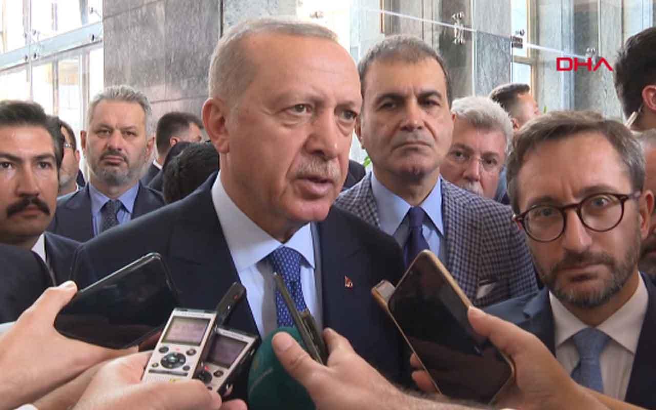 Erdoğan'dan UEFA'nın 'asker selamı' soruşturmasına tepki