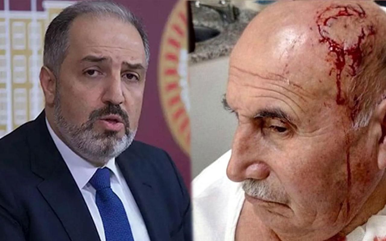 AK Partili Yeneroğlu'ndan saldırıya uğrayan amca için Kürtçe mesaj