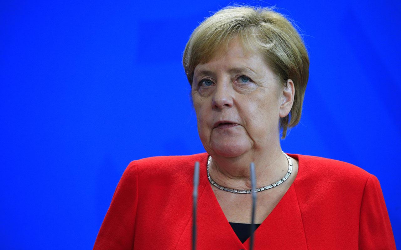 Angela Merkel'den yaptırım açıklaması: Almanya Türkiye'ye silah ihracatını durduracak