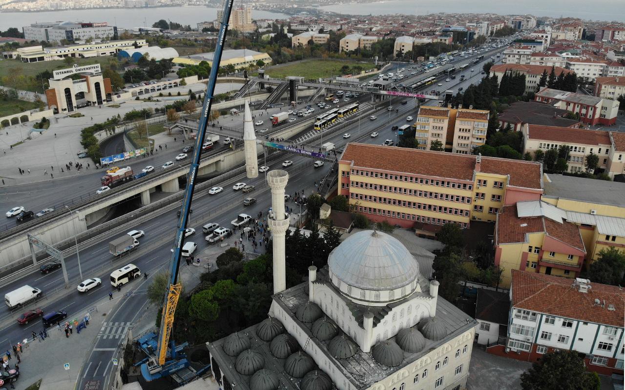 İstanbul depreminde hasar görmüştü! Sökümü başladı